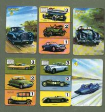Vintage Cards game The Car Game by Pepys